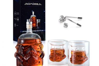 Stormtrooper Whiskey Decanter Set
