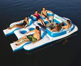 Floating Island Inflatable Raft